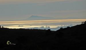Vistas del Montgó desde la Calderona