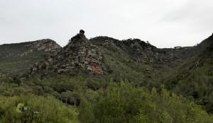 Rodeno en la sierra Calderona