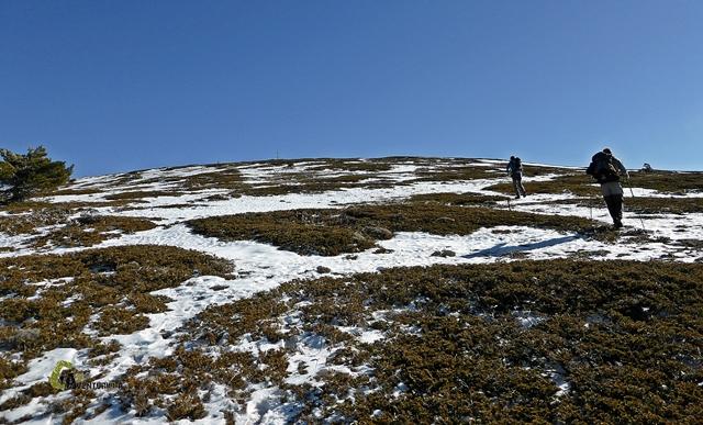 Cerca de la cima del Javalambre