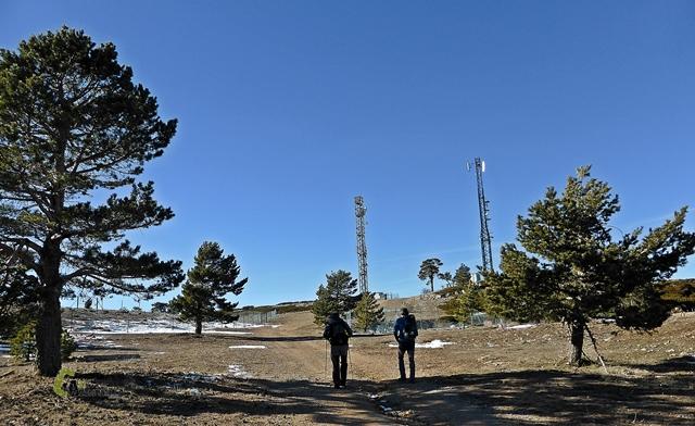En el entorno de las pistas de esquí de Javalambre