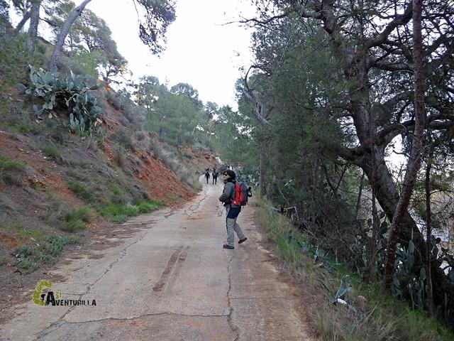 camino a la ermita de Lujan