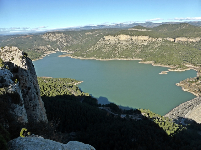 Vistas del Embalse de Arenoso