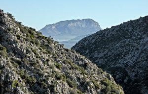 El Montgó desde la ruta de los 6500 escalones