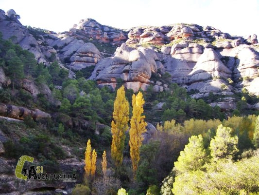 senderismo en la sierra de Montsant