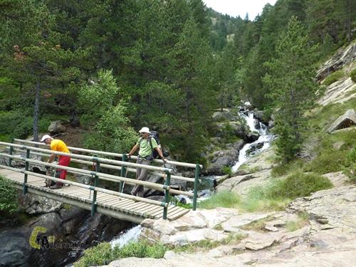 puentes de madera en Andorra