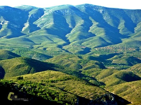 Montañas onduladas