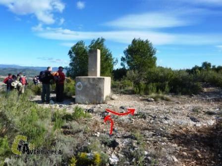 Geodésico de la Loma de la Pinada