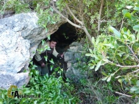 Escondida cueva del Vizcaino