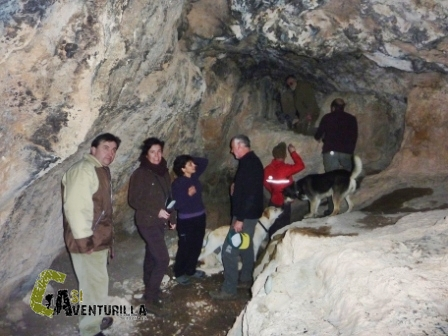 Visita a la cueva del Vizcaino