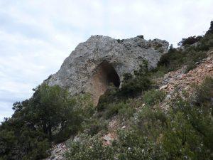 cavidades en la Serrella