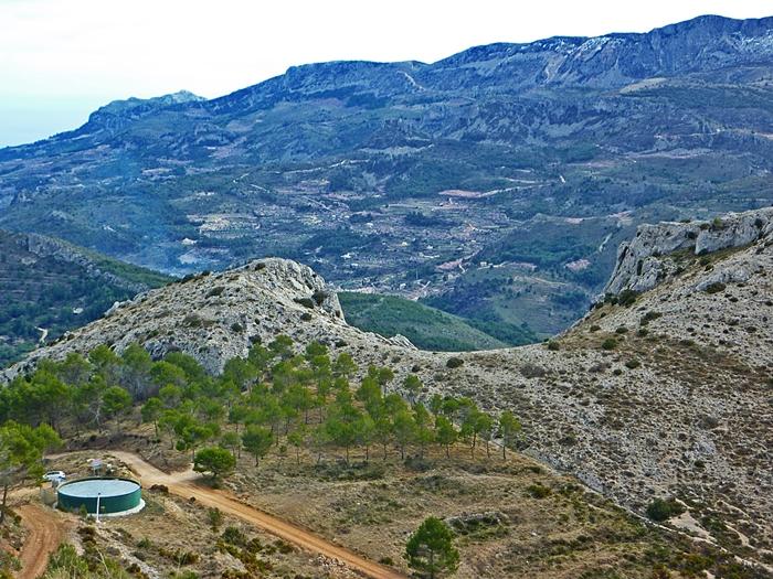 pista forestal de la Serrella