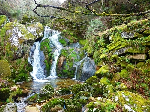 Cascada en Portugal