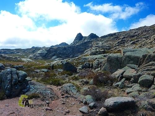 Roca Negra en sierra de Geres