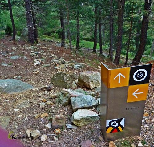 panel del Parque Natural