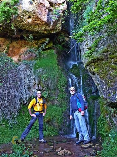 Cascada en el valle de Urbión