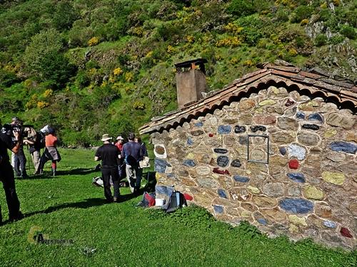refugio en el valle del Urbión