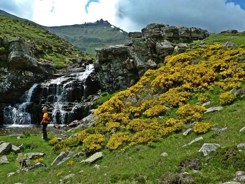 Cascadas en el valle de Urbión