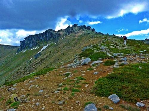Subida al pico Urbión