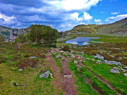 Lagunas en la sierra de Urbión