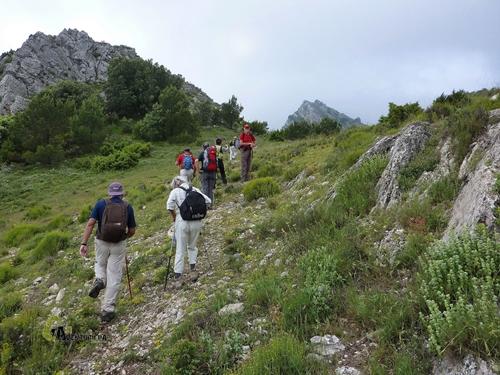 Hacia el pico Tejo