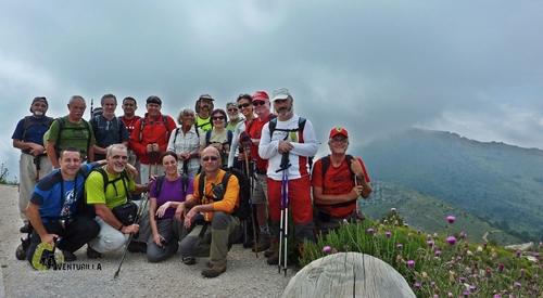 En la cima del pico Tejo