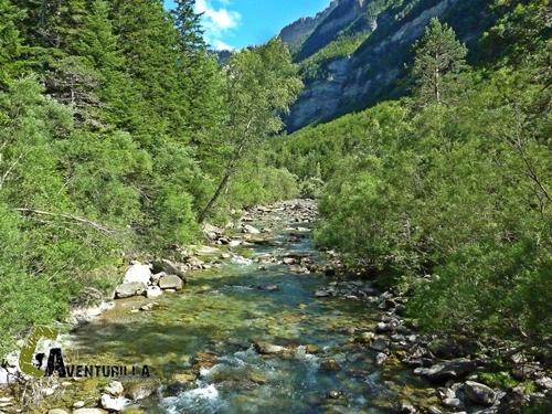 Río Arazas en Ordesa