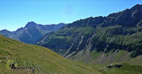 Vistas desde el valle de Otal