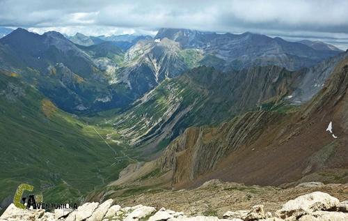 Valle de Otal desde el Tendeñera