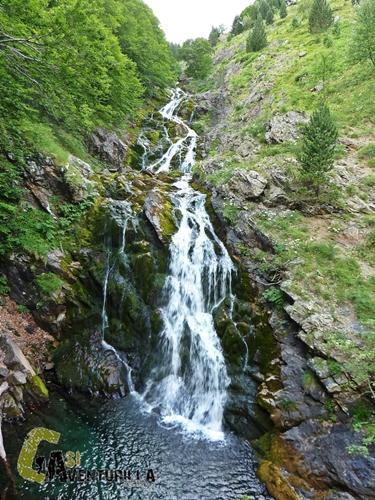 Cascada en el valle de Ordiso