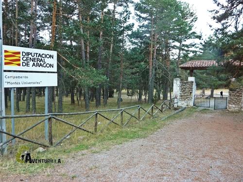 Campamento juvenil Montes Universales
