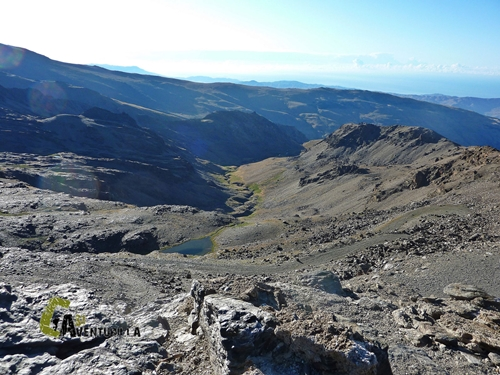 Vistas desde el Refugio la Carihuela