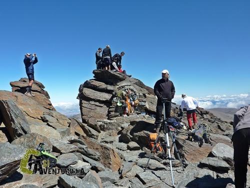 En el pico Mulhacén