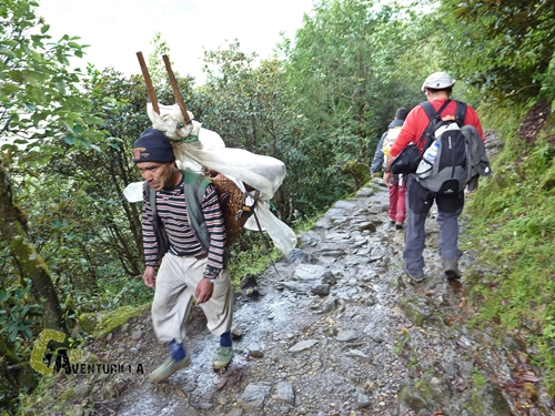 Porteador Nepalí