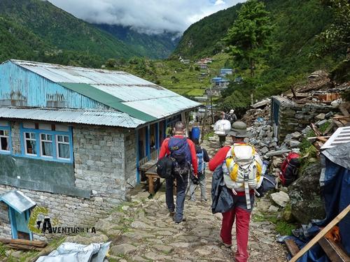 Aldea de Nepal