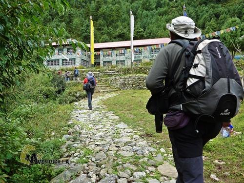 lodge en Nepal