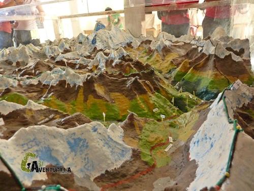 Maqueta de Himalaya