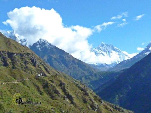 Lhotse, Ama Dablam, Thamserku