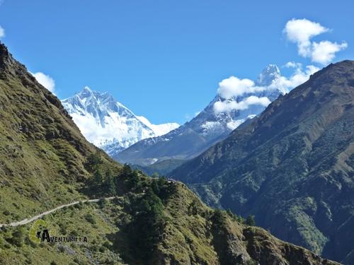 Ama Dablam y Lhotse