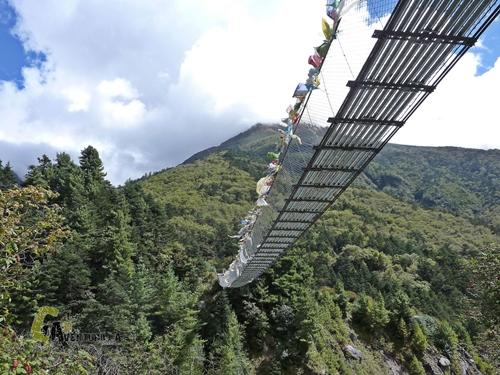Puente colgante de Phungi Thanga