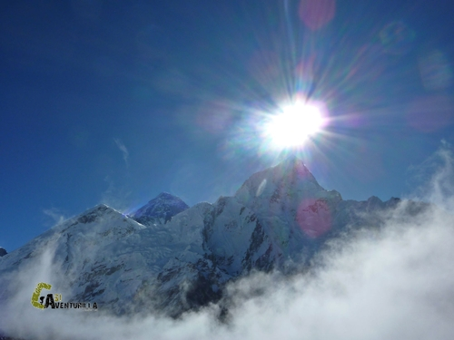 Nuptse y Everest