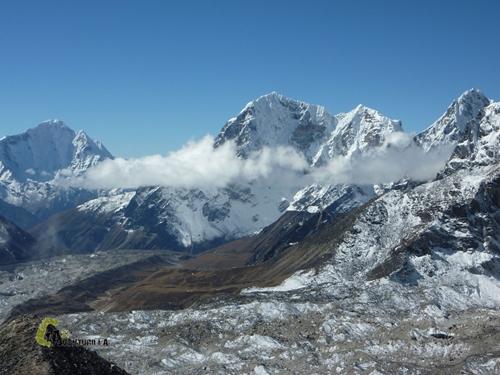 desde la cima del Kala Pattar