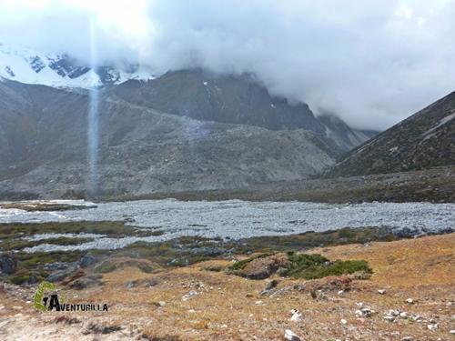 El glaciar de Chola