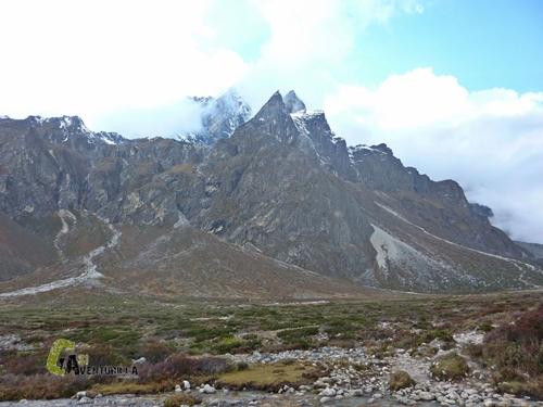 Tabuche Peak y Cholatse