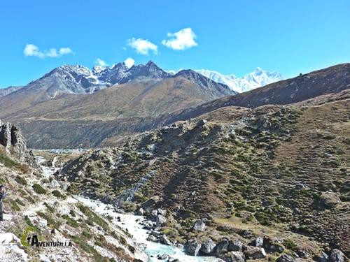 río Chola Khola. Nepal