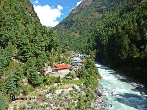 población de Jorsale en Nepal