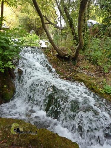 Saltos de agua en la Veguilla.