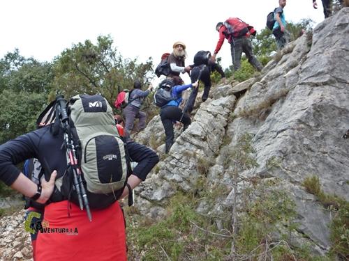 trepada en la roca