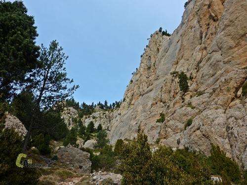 Roc del Ferrús y l'Estret