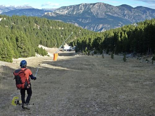 pistas de esquí de Port del Comte
