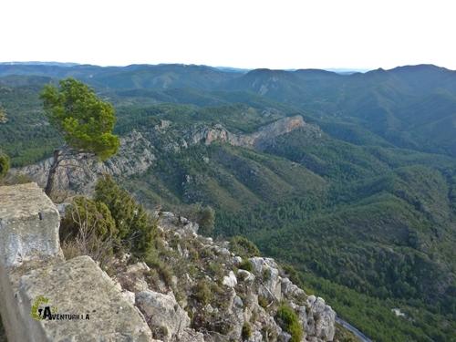 Vistas desde el pico del Remedio